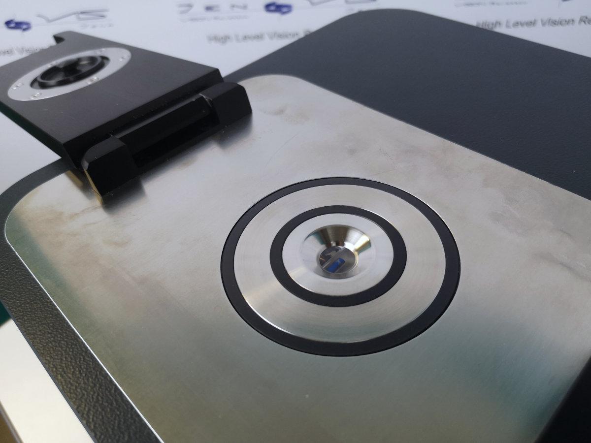 Brechzahl Refraktiver Index Kontaktlinse Prüfen Refraktometer Probenkammer