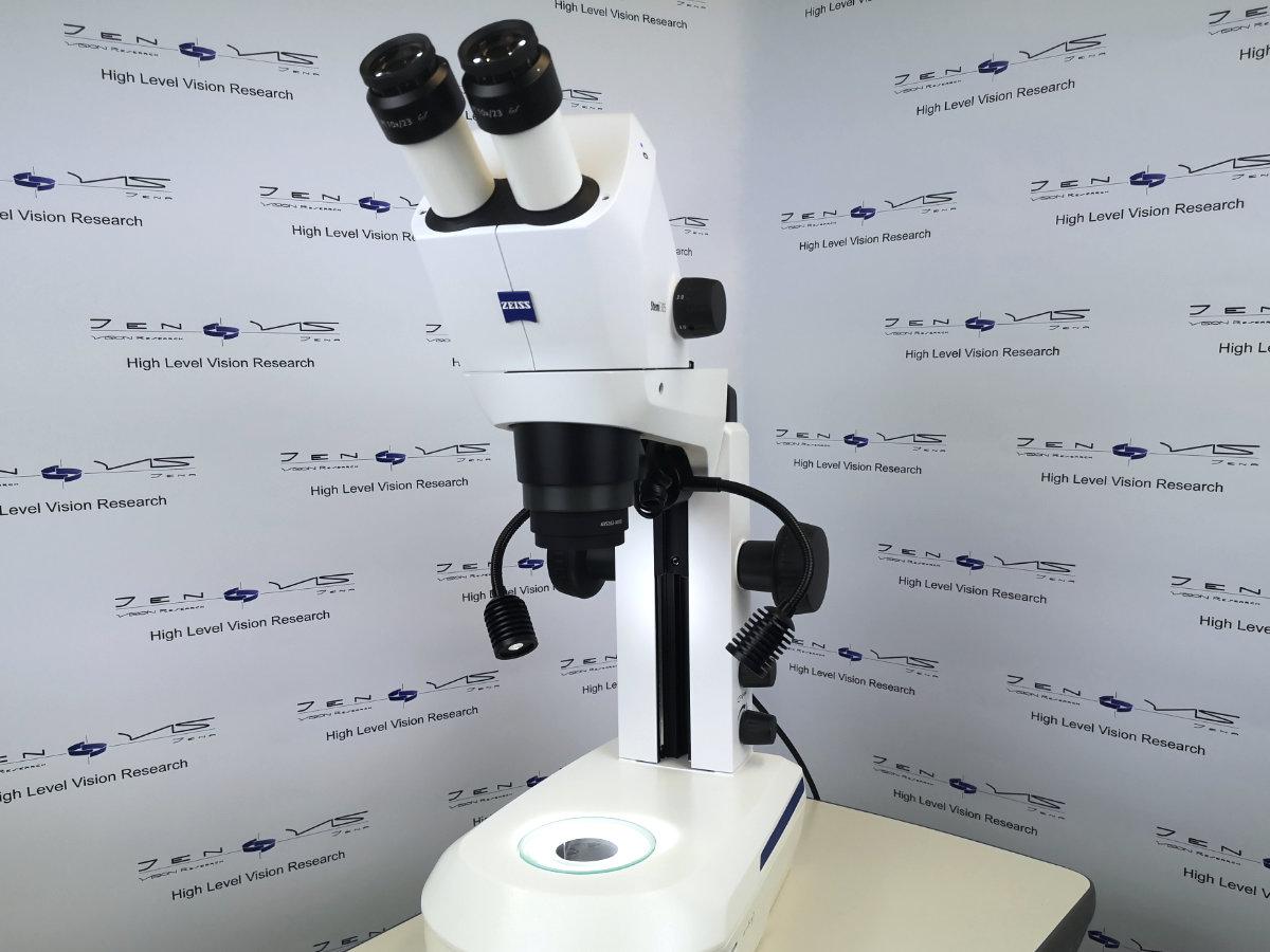 Mikroskopie Nahaufnahme Kontaktlinse Vergrößerung Zeiss stemi