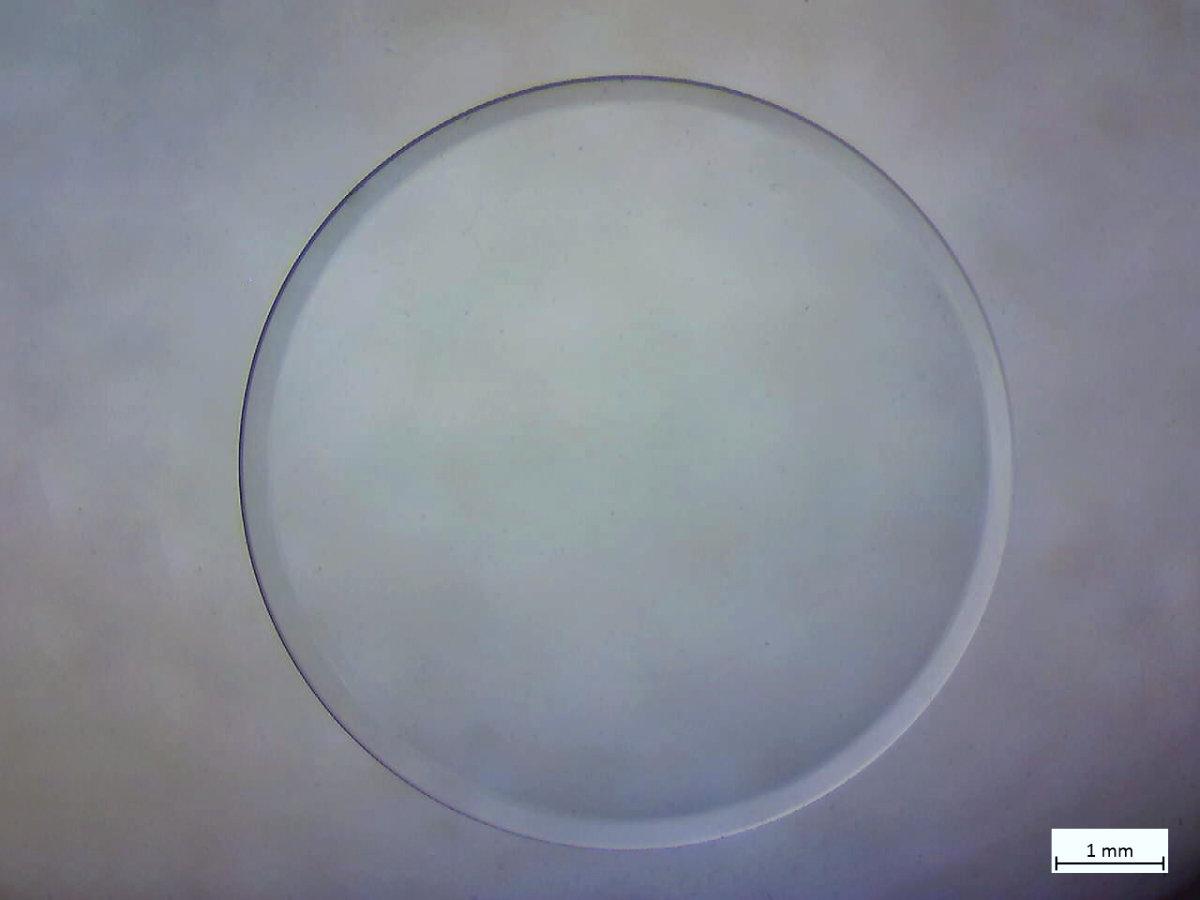 Mikroskopie Nahaufnahme Kontaktlinse Vergrößerung Zeiss