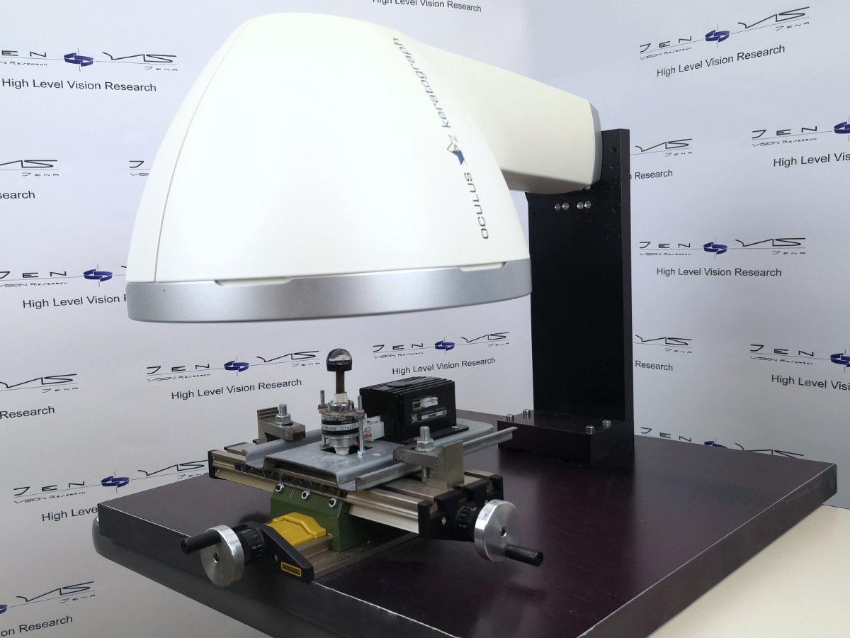 Oculus Benetzung Tränenfilm Auge Kontaktlinse Forschung Klinische Studie Labortest Laborstudie