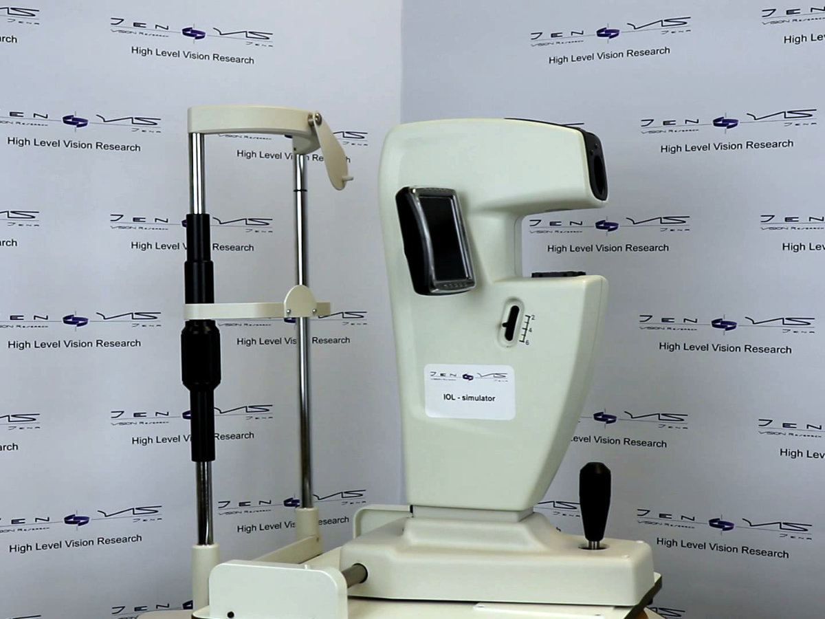 Intraokularlinse Virtuelle Implantation VirtIOL JenVis