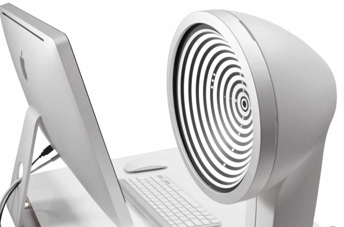 Labor Gerät Prüfung Test Kontaktlinse Parameter Optik JenVis Technik
